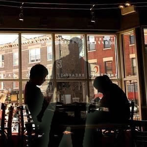 Ghost in the Coffee Shop